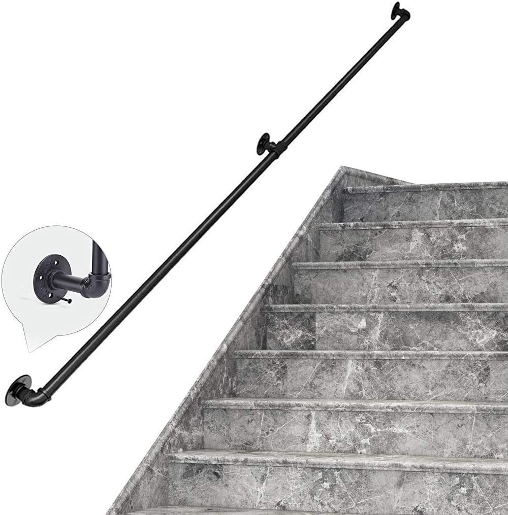 CZYNB Indianapolis Ranking TOP9 Mall Staircase Handrail Banister Rail Kit 30~600cm Saf Support