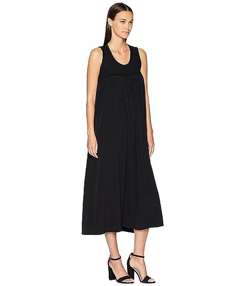 Yamamoto vestido largo Y's O Yohji Running by negro Y1qaW8Z