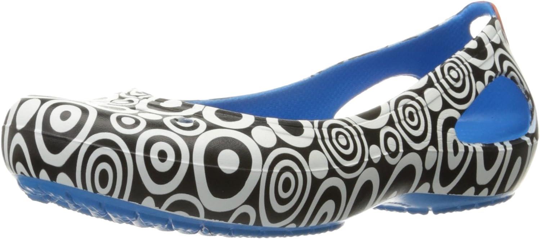 Crocs Women's Kadee Mondo Year-end annual account online shop Ballet Flat Circles