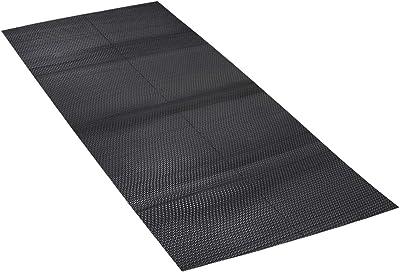 Kuber Industries Snack Design Wipes PVC 1 Piece Floor Mat Door Mat 2x8 Feet (Grey)