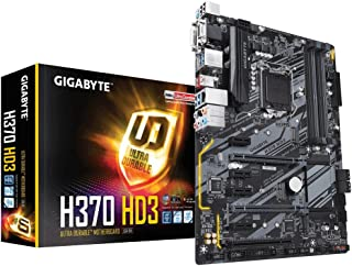 Gigabyte H370 HD3 Intel H370 LGA 1151 (Socket H4) ATX - Placa base (DDR4-SDRAM, DIMM, 2133,2400,2666 MHz, Dual, 16GB, 64 GB)
