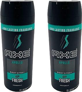AXE Antiperspirant Deodorant Stick for Men, Apollo 2.7 oz Pack of 2