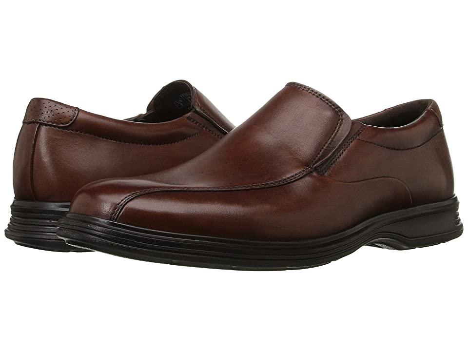 Rockport Dressports 2+ Light Slip On (New Brown Leather) Men's Shoes