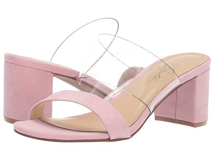 42 GOLD  Liya (Pink/Clear) Womens Sandals