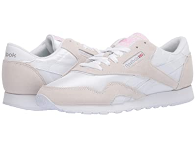 Reebok Lifestyle Classic Nylon (White/Light Grey/None) Women