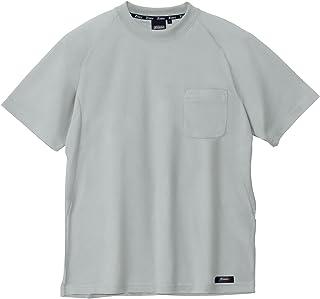 [ジーベック] ハイブリッド半袖Tシャツ 大きいサイズ 61/モスグリーン 6124