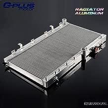 Aluminum Racing Colling Radiator Stop Leak For 2002-2007 SUBARU IMPREZA GDA/GDB WRX STI Vers 7~9 Silver