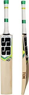 SS TON Premium English Willow Cricket Bat (Free Extra Grip, Bat Cover Included) 2019 Series