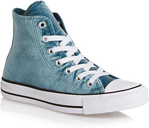 Converse All Star Hi Hi Hi Femme paniers Mode Bleu a61