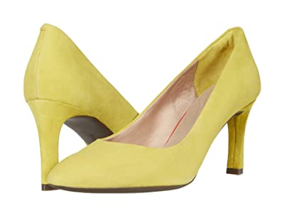 Rockport Total Motion Sheehan Pump (Lemon Suede) Women