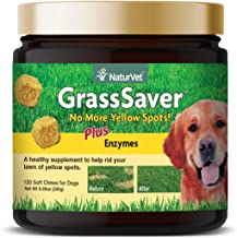 NaturVet – GrassSaver Supplement For Dogs   Healthy Supplement to Help Rid Your Lawn of..