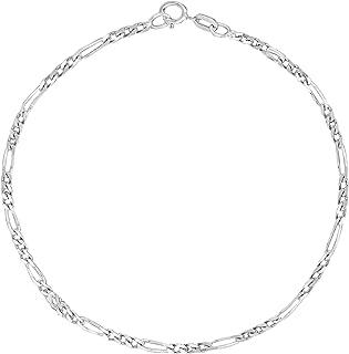 Best 14k white gold ankle bracelet Reviews