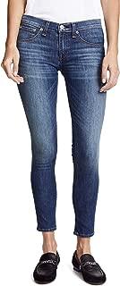 Rag and Bone Women's Washed Capri Jeans Rae Blue