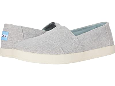 TOMS Avalon (Drizzle Grey Micro Crosshatch) Women