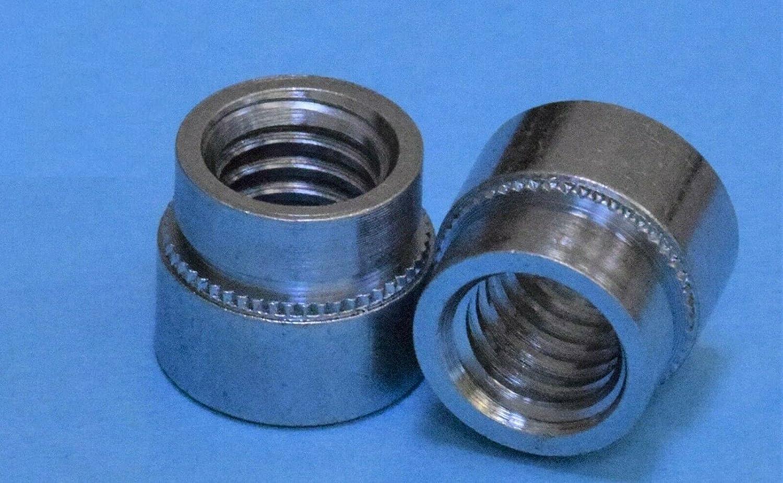 50pcs Steel Self cheap Clinching Branded goods TSC4 5 Nuts 16-18X0.317