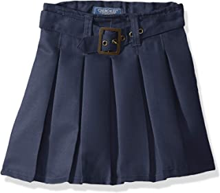 Girls' Twill Scooter with Belt and Side Zipper