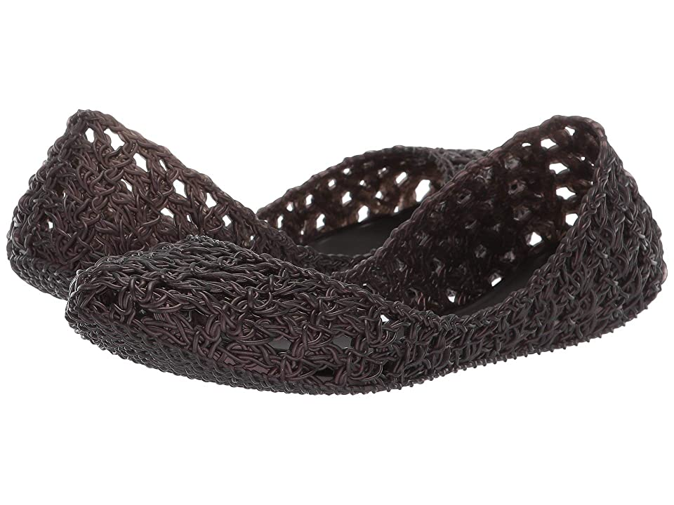 + Melissa Luxury Shoes x Campana Crochet Flat  Black
