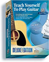 Alfred's Teach Yourself to Play Guitar: Everything You Need to Know to Start Playing Now!, CD-ROM (Teach Yourself Series)