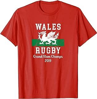 WALES RUGBY Shirt - GRAND SLAM CHAMPS TShirt