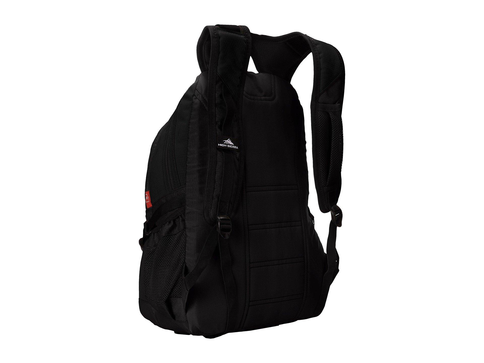 High Backpack Sierra Sierra Black Backpack High Loop Loop High Black aIqIxwSdf