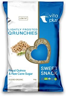 Vitaplus+ Organic Quinoa Lightly Frosted Crunchies - 100 gm