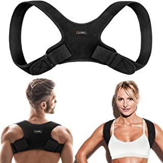 Copper Compression Posture Corrector for Men and Women - Guaranteed Highest Copper Back Brace Posture Support Correctors. ...
