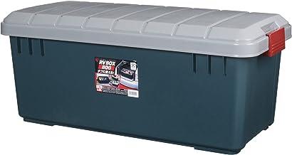 アイリスオーヤマ 収納 BOX 785×370×325 RVBOX 800 グレー/ダークグリーン