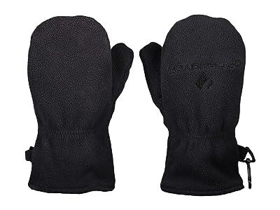 Obermeyer Kids Finley Fleece Mitten (Toddler/Little Kids) (Black) Extreme Cold Weather Gloves