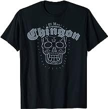 Mens El Mas Chingon Sugar Skull Spanish T Shirt