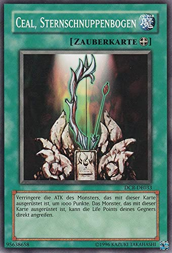 DCR-DE033 - Ceal, Sternschnuppenbogen - Common - Yu-Gi-Oh - Deutsch - 1. Auflage