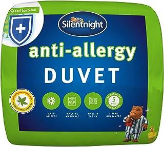 Silentnight Anti-Allergy Duvet, 4,5 Tog Duvet, Microfibre, King, Anti-Bacterial Quilt