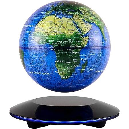 Globus Beleuchtet Schwebender Gobus Magnetische Levitation Kugeln DA