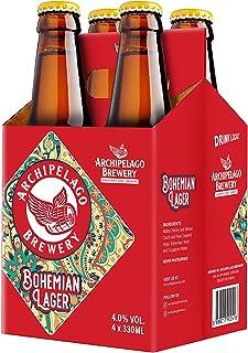 Archipelago Brewery Bohemian Lager Craft Beer Bottle, 4 x 330ml
