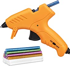 Mini Hot Glue Gun, Hot Glue Gun for Kids 20W High Temperature Mini Size Hot Melt Glue Gun Kit with 18 pcs Glue Sticks for ...