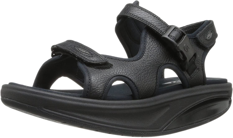 MBT Women's Kisumu 3S Rare Nashville-Davidson Mall Bottom Leather Rocker Sandals