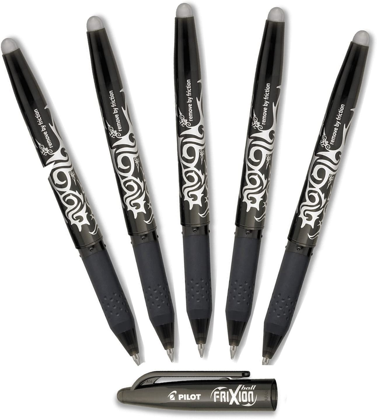 Very online shopping popular Pilot FriXion Ball Erasable Gel Ink 0.7mm Pens Fine Blac Point