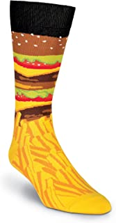 Men's Food and Drink Casual Novelty Crew Socks