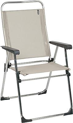 Lafuma Camping Armchair, Compact, ALU VICTORIA, Batyline, Colour: Seigle, LFM1961-2178