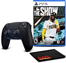 $138 » PlayStation 5 DualSense Wireless Controller (Midnight Black) Bundle with MLB The Show 21