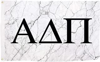 Desert Cactus Alpha Delta Pi Light Marble Sorority Letter Flag 3 Foot x 5 Foot Banner Sign Decor ADPi - Light Marble