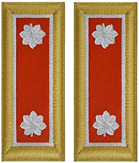 Army Signal Officer Shoulder Boards