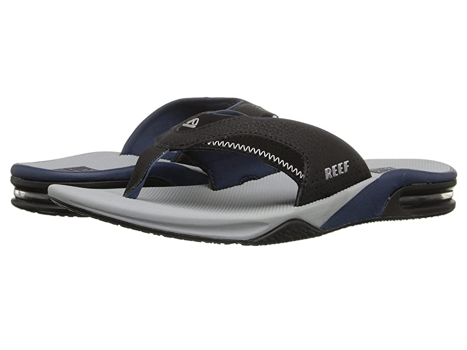 Reef Fanning (Light Grey/Black) Men
