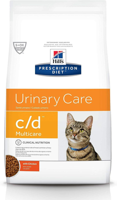 Hill's Fashionable Prescription Regular store Diet c d Multicare Urinary Food Dry Cat Care