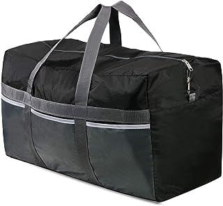 REDCAMP Extra Large Duffle Bag Lightweight, 96L WaterProof Travel Duffle Bag Foldable for Men Women, Black