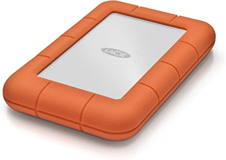 LaCie Rugged Mini 2TB External Hard Drive Portable HDD