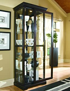 pulaski curio display cabinet