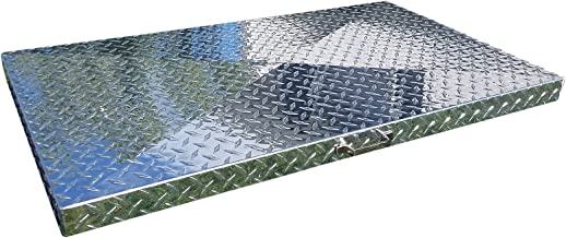 Griddle Cover, Diamond Plate Aluminum, for 36-inch Blackstone Griddle