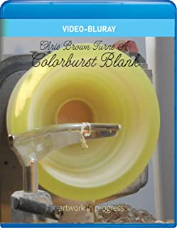 Chris Brown Turns a Colorburst Blank [Blu-ray]