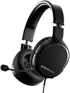 SteelSeries Arctis 1 - All-platform compatibility - for PC, PS4, Xbox, Nintendo Switch, Mobile - Detachable ClearCast Micr...