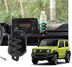 YOCTM for Suzuki Jimny 2019 2020 Car Mount Phone Holder Multifunction Water Cup Drink Stand Bracket Black (Pack of 1) (Water Cup Holder)